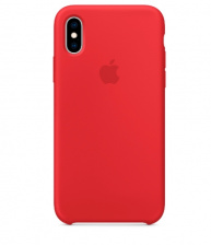 Чехол APPLE iPhone XS Silicone Case MRWC2ZM/A (PRODUCT)RED