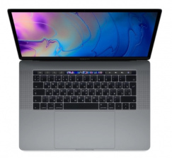 Ноутбук Apple MacBook Pro 15 Touch Bar i7 2.2/16/256 (MR932RU/A) Space Gray